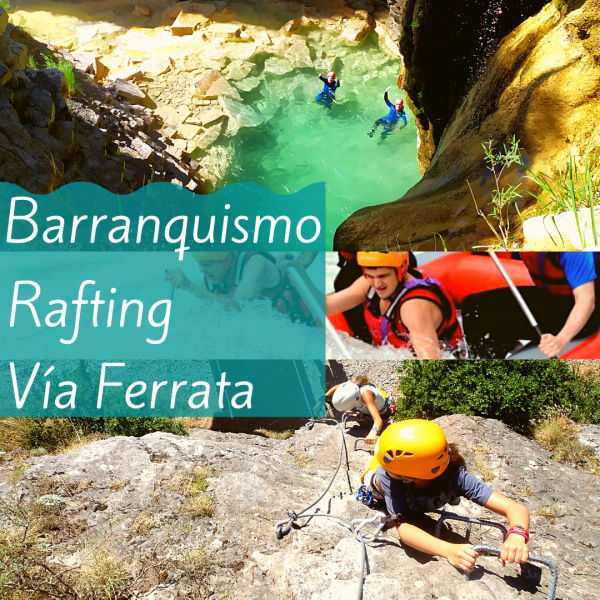 Barranco + Rafting + Ferrata